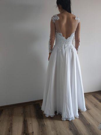 Suknia ślubna r.34-36