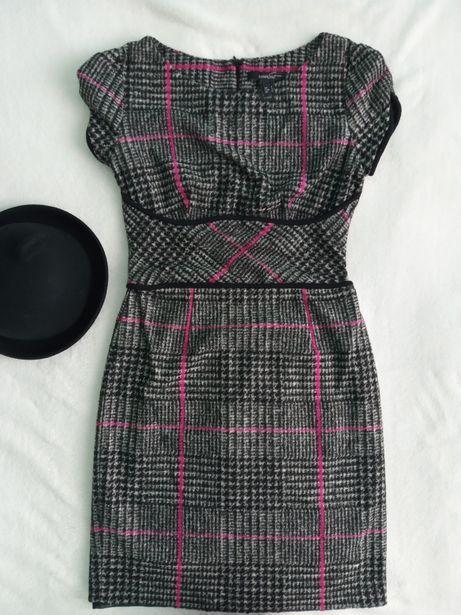 Платье Mango шерсть