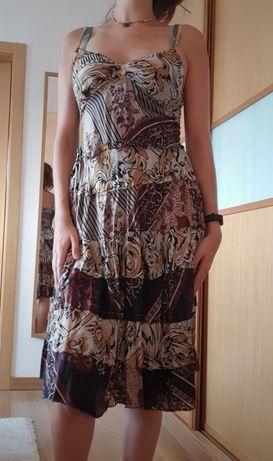Vestido midi Lostin India