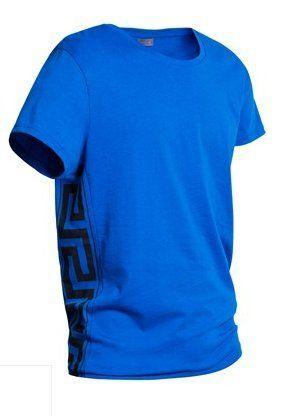 Męski T-shirt Versace x H&M niebieski L
