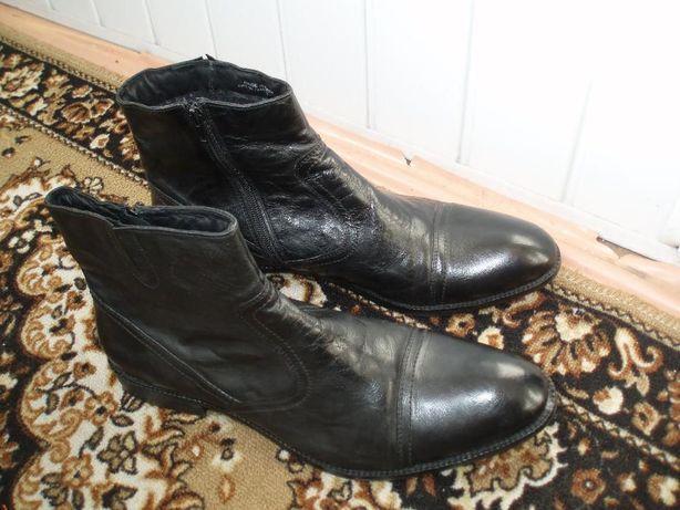 Сапоги кожаные 46 размер