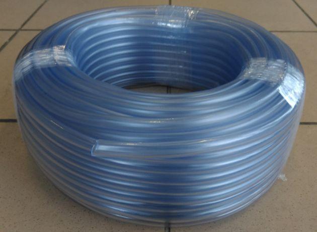 Wąż przewód igielitowy niewzmocniony 12 rolka 50m