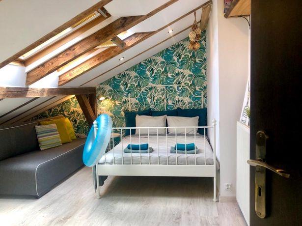 Apartament wakacyjny dla 8 osób/3 pokoje/300 m od morza