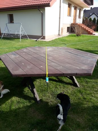 Stół ogrodowy.  Do altany