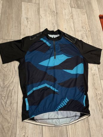 Koszulka MTB kolarska/rowerowa Rockrider XL (wysoki model)
