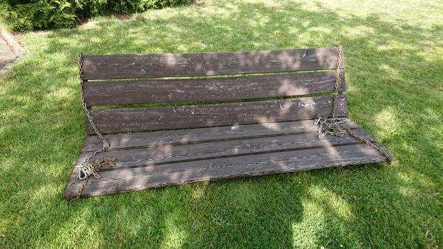 Siedzisko, ławka do huśtawki ogrodowej