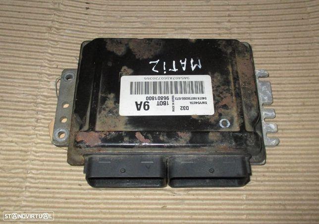 Centralina para Chevrolet Matiz 0.8 gasolina D32 5WY5407A 1B0T 9A 96801800