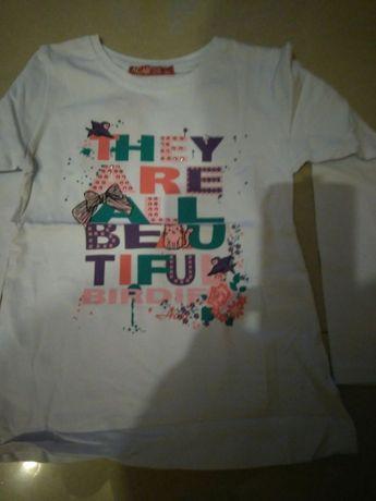 Bluzka biała roz 116