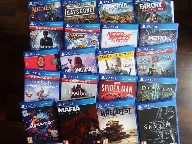 PS4 wszystkie NAJLEPSZE HITY GOW Horizon COD Hitman MAFIA Days Gone