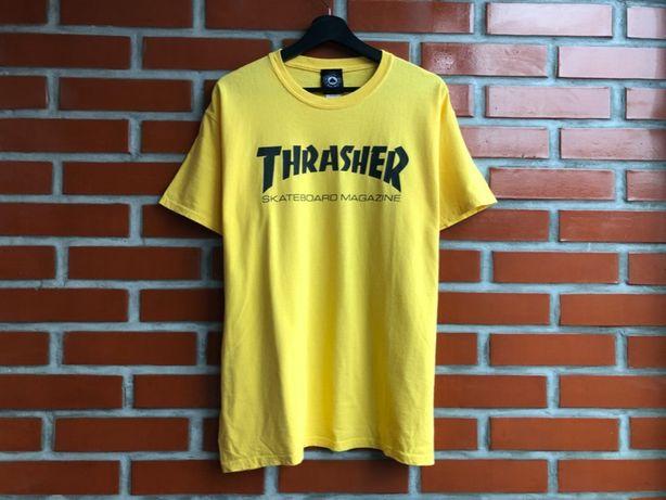 Thrasher оригинал мужская футболка размер L трашер Б У