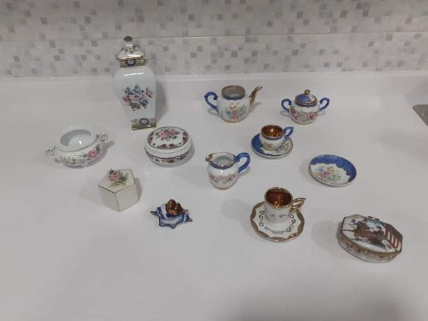 12 Limoges / Porcelanas