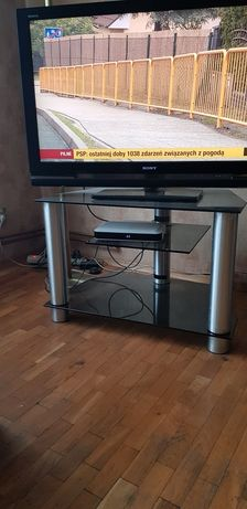 Stolik tv szkło 80 cm