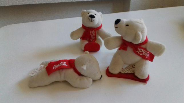 Мишка Белый медведь игрушка Coca-Cola колекционные новогодние подарки