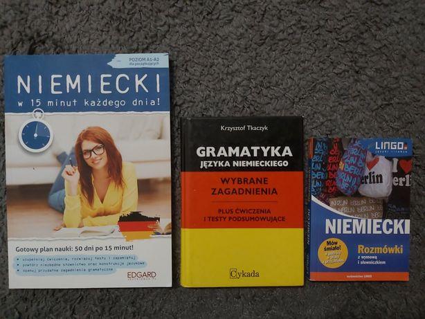 Niemiecki gramatyka, rozmówki i ćwiczenia.
