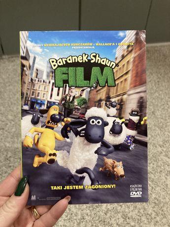 DVD z książką Baranek Shaun FILM