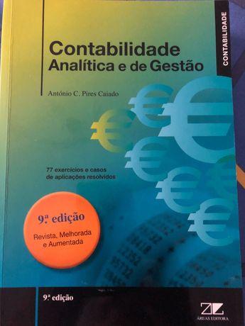 Livro contabilidade analítica e de gestão