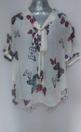 koszula mgiełka w motyle XL/XXL