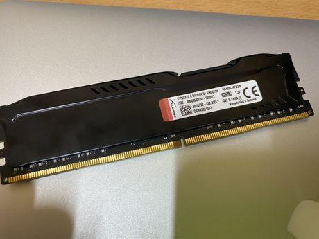 Модуль памяти KINGSTON HyperX Fury DDR4 8gb 2666Mhz (HX426C16FB2/8)
