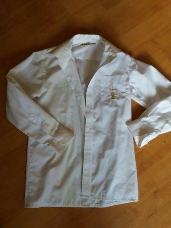Elegancka koszula chłopiec komunia 128-134