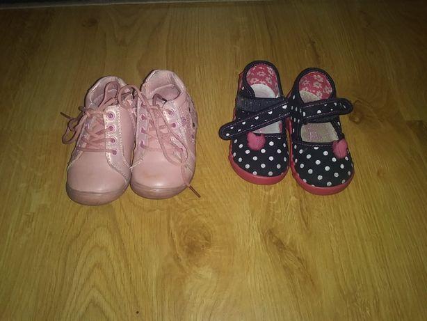 Buciki i pantofelki dziewczęce
