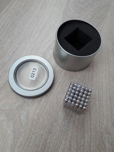 Неокуб | Магнитные шарики | Магнитный конструктор NeoCub Silver
