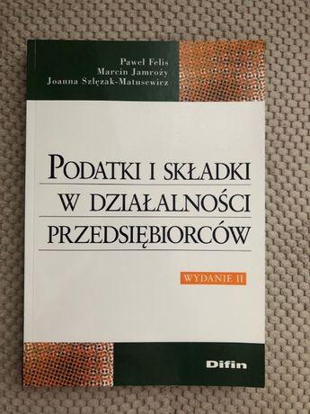 Podatki i składki w działalności przedsiębiorstw, wydanie II, Difin