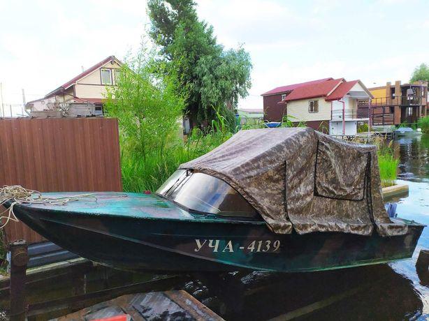 Продам лодку Днепр, ямаха 40