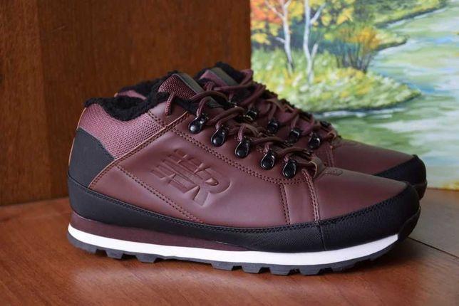 Зимние ботинки мужские городские туристические кроссовки меховые