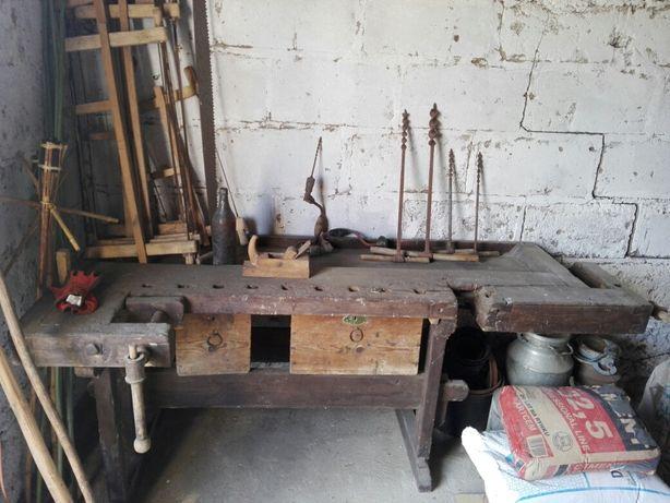 Zabytkowy warsztat stolarski