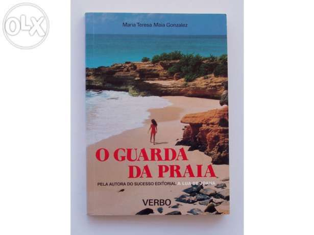 """Livro """"O guarda da praia"""" - NOVO - autografado pela autora"""