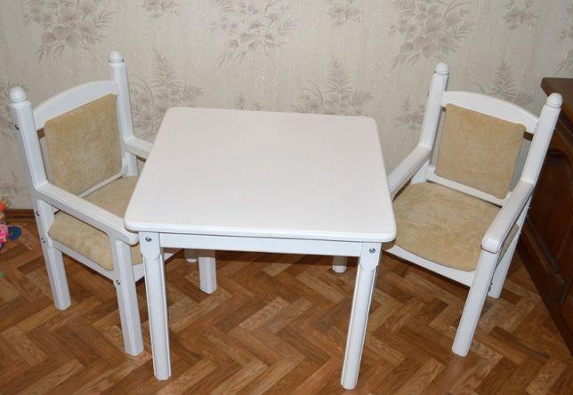 Детский набор столик и 2 стульчика (стол и стул)