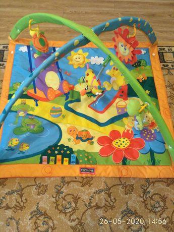 Розвиваючий коврик tiny love, развивающий коврик
