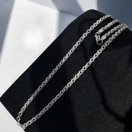 50 см. Цепочка серебро / ланцюжок срібний