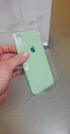 Iphone XR case mietowy etui