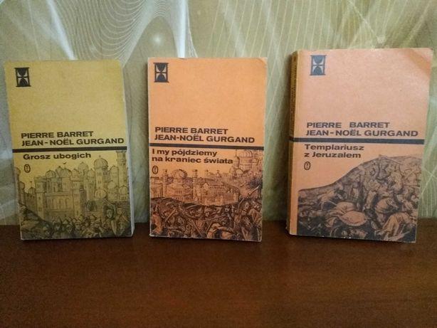 Pierre Barret, Jean Noel Gurgand tryptyk wyprawy krzyżowe