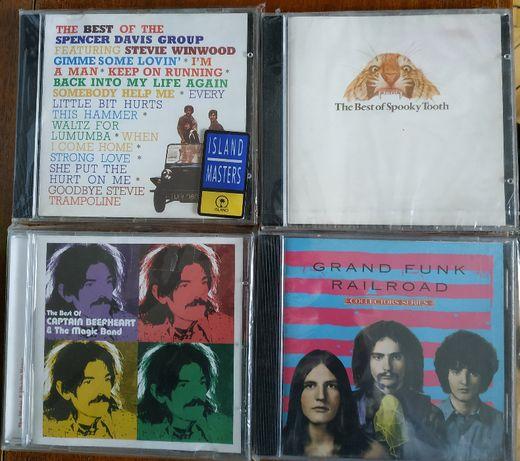 фирменные CD Rolling Stones, Elton John, Who, Gentle Giant, ELO etc.