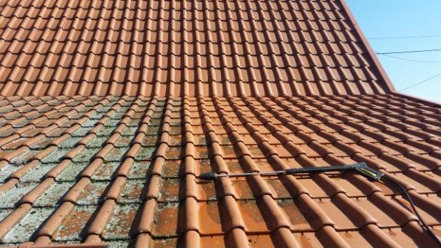 Mycie elewacji, dachów, kostki brukowej, hal, magazynów
