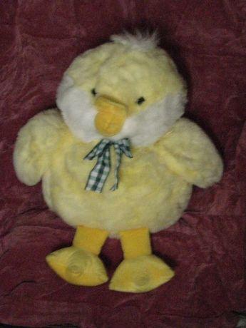 Подарок - мягкая игрушка цыплёнок (60 см высота)