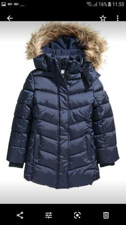 зимнее пальтишко H&M в идеальном состоянии