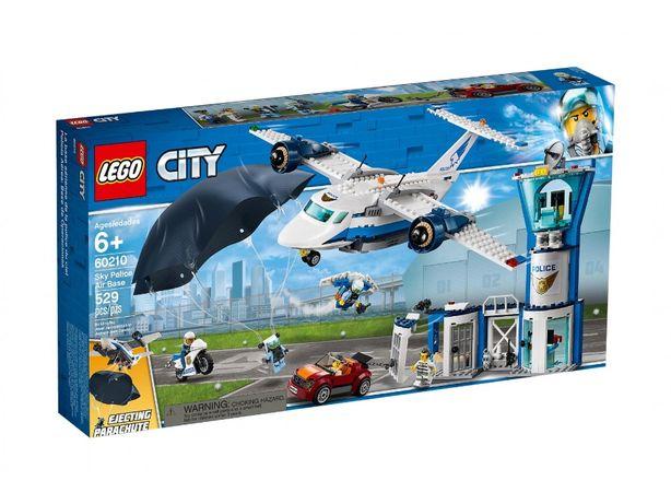 Lego City Baza policji 60210 (dowóz gratis)