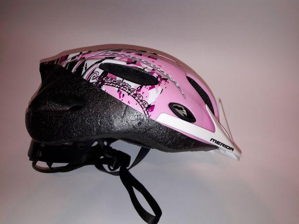 Kask rowerowy dla dziewczynki roz. M