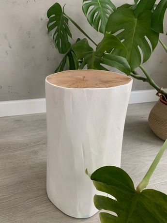 Pieniek drewniany, pieńki grewniane, wysokość 40 cm, dostawa gratis!