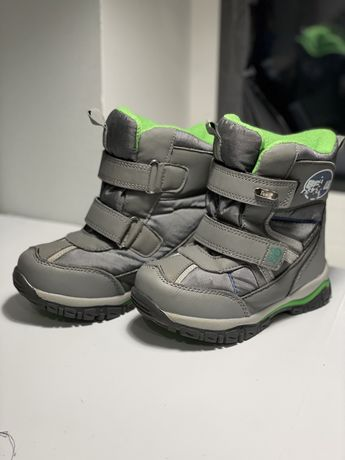 Б/у зимові дитячі ботинки 27 розміру Tom.m