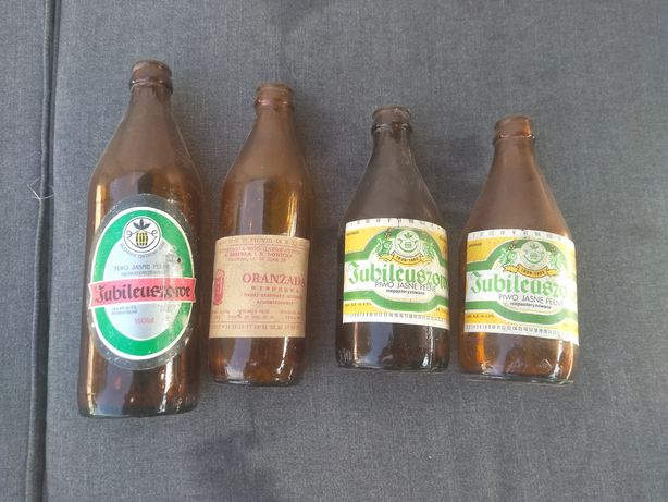 Stare butelki Jubileuszowe, Pepsi Cola, Oranżada Wyborowa