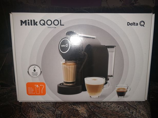 Nowy ekspres Delta milk qool biedronka