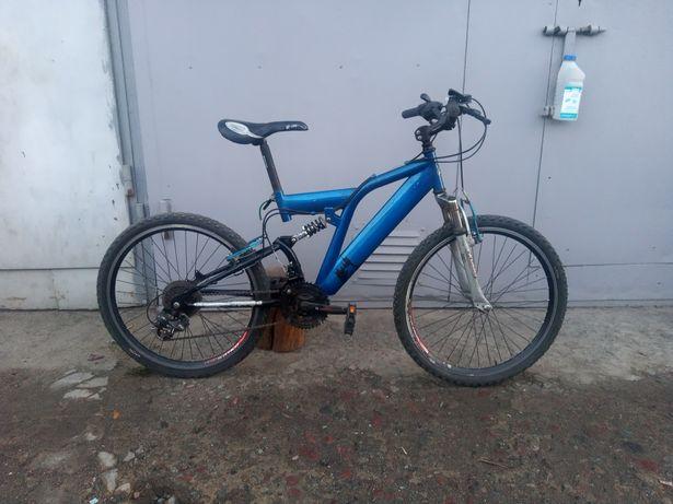 Велосипед двухподвес, 24 колесо, 18 передач