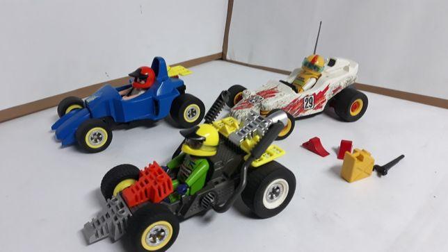Playmobil auta wyścigowe