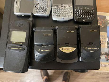 Продам раритетные редкие телефоны motorola startac /8700 international