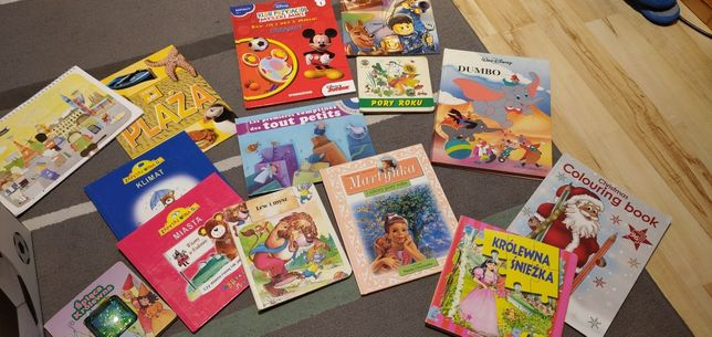 Bajki książki dla dzieci zestaw