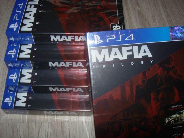 Mafia Trilogy. Новый русский Диск для РS4